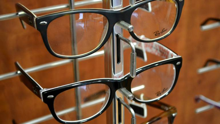 Lots of glasses to choose from